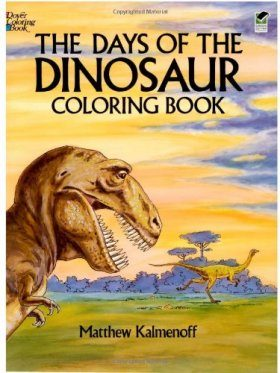 The Days of the Dinosaur Coloring Book