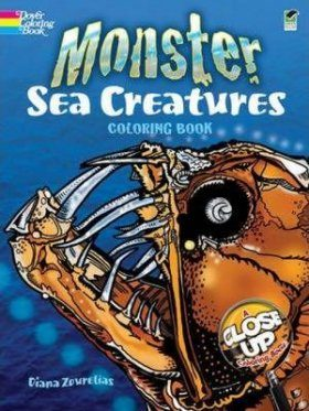 Monster Sea Creatures Coloring Book