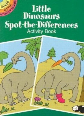 Little Dinosaurs Spot-the-Differences Activity Book