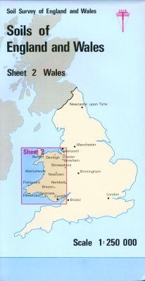 Soils of England and Wales, Sheet 2 (Folded): Wales