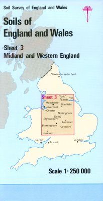 Soils of England and Wales, Sheet 3 (Folded): Midland and Western England