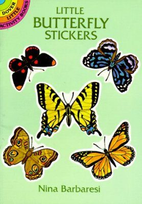 Little Butterfly Stickers