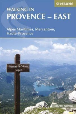 Cicerone Guides: Walking in Provence - East