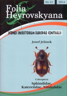 Icones Insectorum Europae Centralis: Coleoptera: Sphindidae, Kateretidae, Nitidulidae [English / Czech]