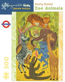Zoo Animals: 300-piece Jigsaw Puzzle