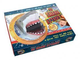 3D Shark Attack! - Press Out & Build Wall Model