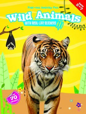 My Fold-Out Activity Fun: Wild Animals