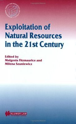 Exploitation of Natural Resources in the 21st Century