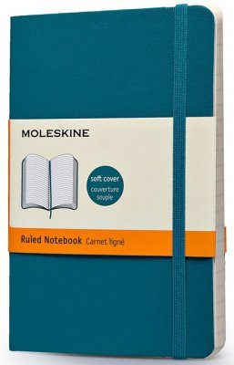 Moleskine Blue Pocket Notebook  - Ruled