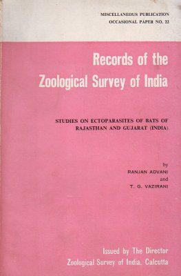 Studies on Ectoparasites of Bats of Rajasthan and Gujarat (India)