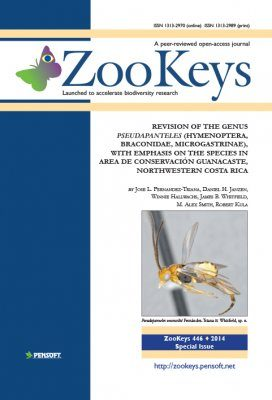 ZooKeys 446: Revision of the Genus Pseudapanteles (Hymenoptera, Braconidae, Microgastrinae), with Emphasis on the Species in Area de Conservación Guanacaste, Northwestern Costa Rica