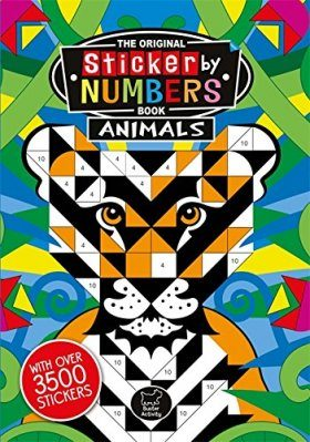 Sticker by Numbers: Animals