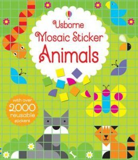 Mosaic Sticker Animals
