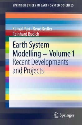 Earth System Modelling, Volume 1