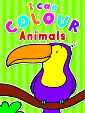 I Can Colour Animals