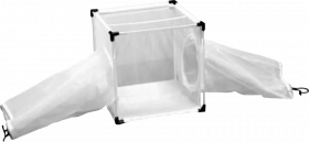 BugDorm-4D Insect Rearing Cage (32.5 x 32.5 x 32.5cm)