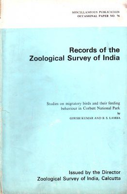 Studies on Migratory Birds and their Feeding Behaviour in Corbett National Park