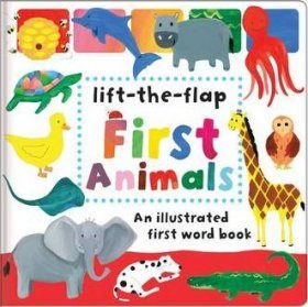 First Animals: An Illustrated First Word Book