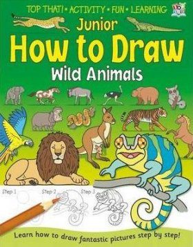 Junior How to Draw: Wild Animals