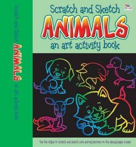 Scratch & Sketch Animals