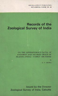 On the Lepidopterous Fauna of Andaman and Nicobar Group of Islands, India