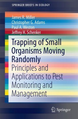 Trapping of Small Organisms Moving Randomly