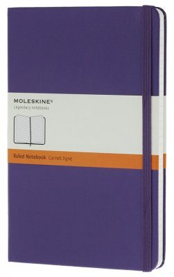 Moleskine Violet Pocket Notebook  - Ruled