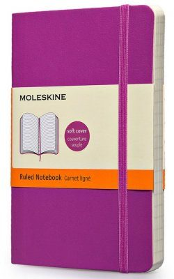 Moleskine Orchid Purple Pocket Notebook  - Ruled