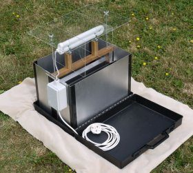 Mobile 40W Actinic 'Lucent' Skinner Moth Trap