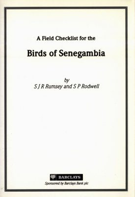 A Field Checklist for the Birds of Senegambia