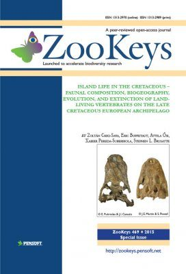ZooKeys 469: Island Life in the Cretaceous