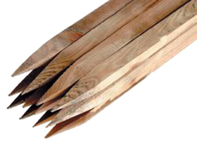 Soft Wood Stakes (32 x 32 x 1200mm)