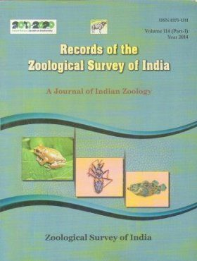 Records of the Zoological Survey of India: A Journal of Indian Zoology: Volume 114, Part 1