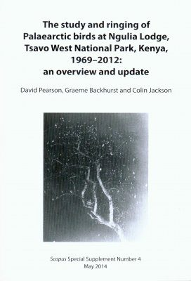 The Study and Ringing of Palaearctic Birds at Ngulia Lodge, Tsavo West National Park, Kenya, 1969-2012: An Overview and Update