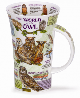 The World of Owls Mug