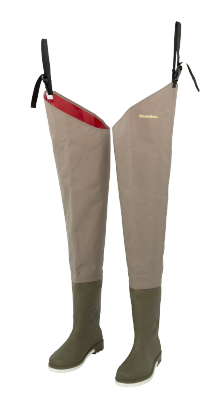 Snowbee Nylon Thigh Waders (Felt Sole)
