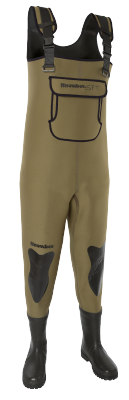 Snowbee SFT Neoprene Chest Waders (Cleated Sole)