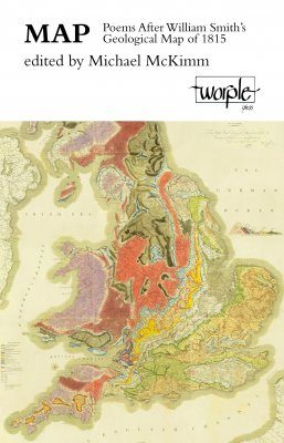 Map: Poems After William Smith's Geological Map of 1815