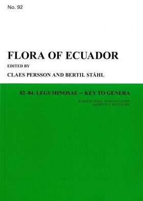 Flora of Ecuador, Volume 92, Parts 82-84: Leguminosae – Key to Genera