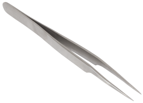 Super Fine Pointed Forceps with Angled Head