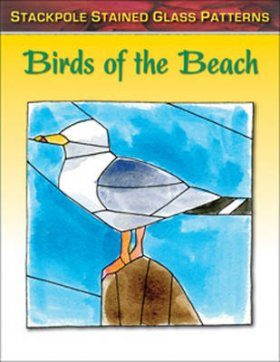 Stained Glass Patterns: Birds of the Beach