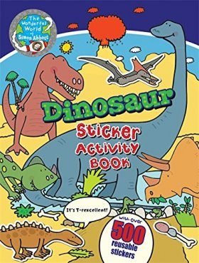 Dinosaur Sticker Activity Book