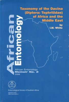 Taxonomy of the Dacina (Diptera: Tephritidae) of Africa and the Middle East