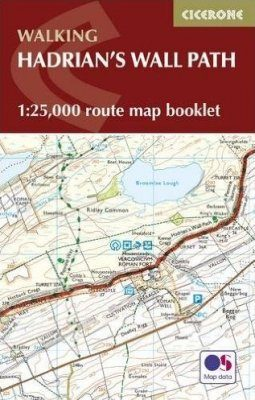 Cicerone Guides: Hadrian's Wall Path Map Booklet