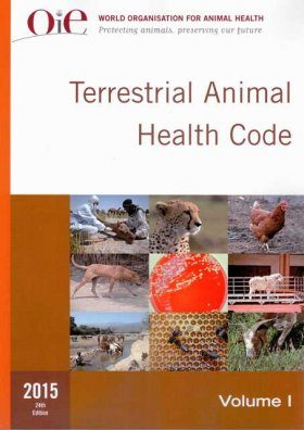Terrestrial Animal Health Code 2015 (2-Volume Set)