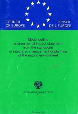 Model Outline Environmental Impact Statement from the Standpoint of Integrated Management or Planning of the Natural Environment
