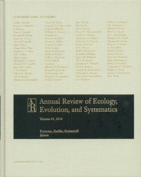Annual Review of Ecology, Evolution, and Systematics, Volume 45