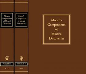 Moore's Compendium of Mineral Discoveries 1960-2015 (2-Volume Set)