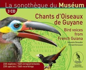 Bird Voices from French Guyana / Chants d'Oiseaux de Guyane (3CD)