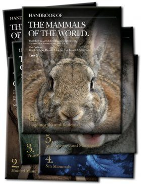 Handbook of the Mammals of the World, Volumes 1 to 6